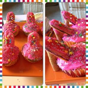 Heel cupcake
